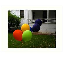 """Escape from the Balloonatic Asylum"" Art Print"
