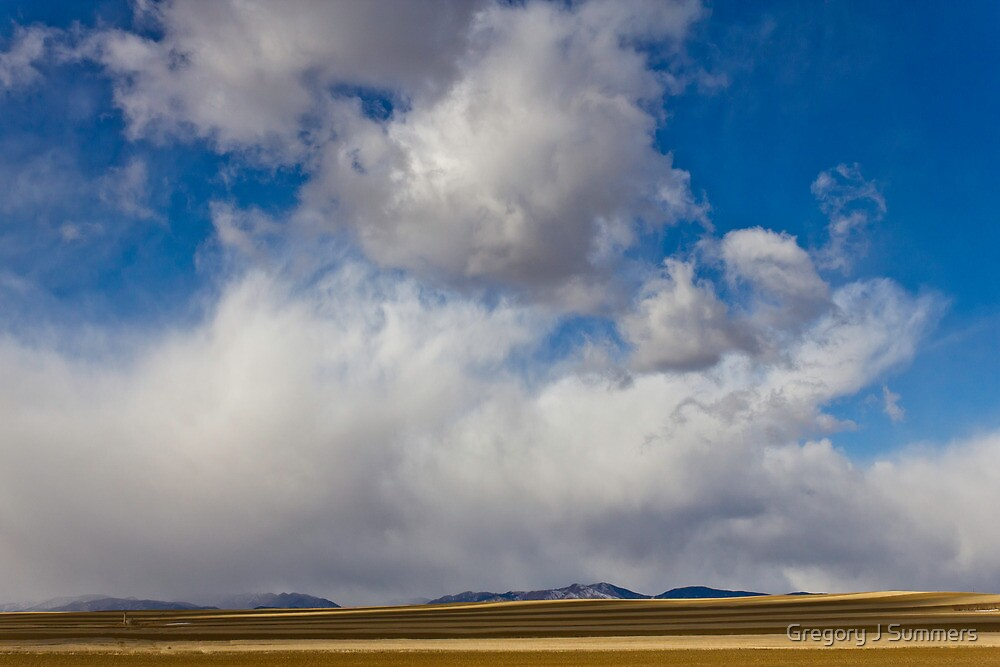Storm Skies Over The Plains by nikongreg