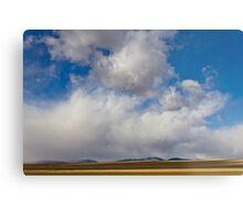 Storm Skies Over The Plains Metal Print
