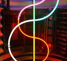 It's like neon, neon. by Michael  Herrfurth
