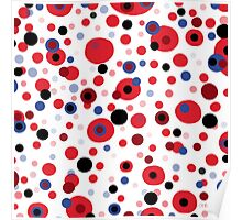 Abstract dots for fun Poster