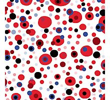 Abstract dots for fun Photographic Print