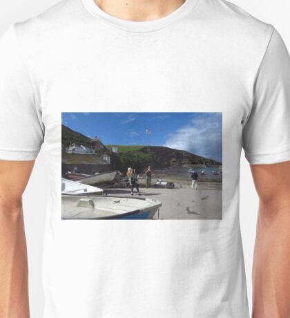 Port Isaac, A Typical Cornish Scene Unisex T-Shirt