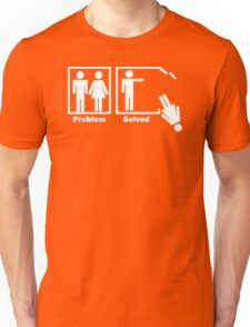 NEW Problem Solved funny T-SHIRT crazy marriage gag humor tee Unisex T-Shirt