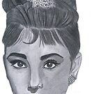 audrey hepburn by Bobby Dar