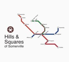 Hills & Squares of Somerville by Rajiv Raman