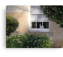 Bacon Cottage Window Canvas Print