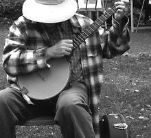 """""""Shy Banjo Player"""" by waddleudo"""