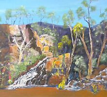 Waterfalls of the Grampians National park by Kay Cunningham