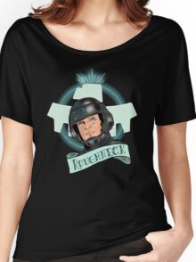 Aye Que JOHNNY RICO! Women's Relaxed Fit T-Shirt