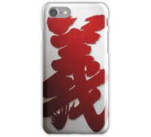 Righteousness II iPhone Case/Skin