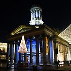 Christmas Lights, Gallery of Modern Art, Glasgow by David Alexander Elder
