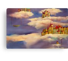 Cloud Street Canvas Print