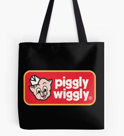 Piggly Wiggly T-shirt retro 70's 80's vintage country 100% cotton graphic tee Tote Bag
