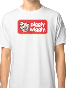 Piggly Wiggly T-shirt retro 70's 80's vintage country 100% cotton graphic tee Classic T-Shirt