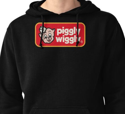 Piggly Wiggly T-shirt retro 70's 80's vintage country 100% cotton graphic tee Pullover Hoodie