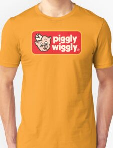 Piggly Wiggly T-shirt retro 70's 80's vintage country 100% cotton graphic tee T-Shirt
