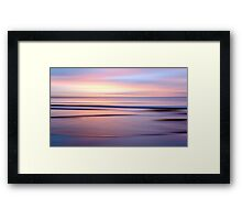 Etty Bay sunrise Framed Print