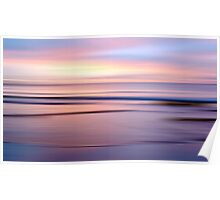 Etty Bay sunrise Poster