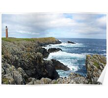 Lewis Lighthouse Poster