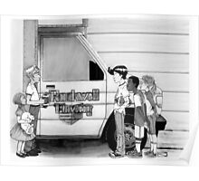 Rockwell Moving Poster