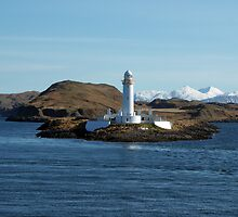 Lismore Lighthouse, Scotland by David Alexander Elder