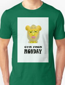 Gym From Monday Unisex T-Shirt