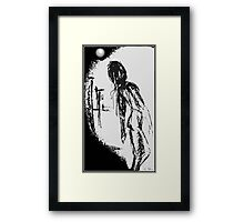 moon june spoon Framed Print