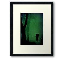 He's coming for you, sleep tight!!! © Framed Print