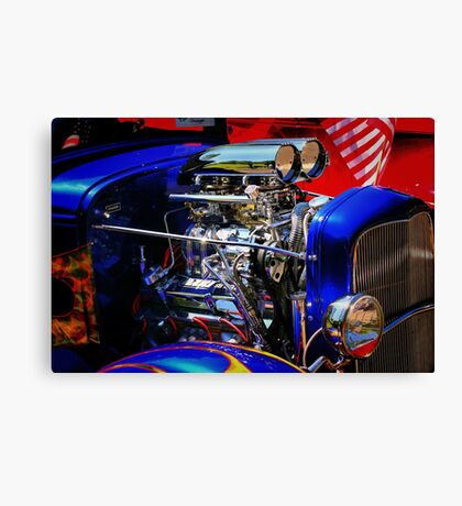 Color and Chrome Canvas Print