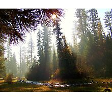 Autumn Haze on the North Fork Photographic Print