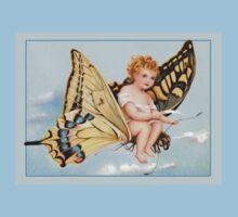 Vintage Victorian Card Kids Tee