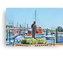 Sponge Diver Statue, Tarpon Springs, Florida Canvas Print