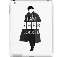 I m Sherlocked iPad Case/Skin