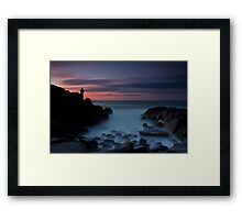 Sit Down in Front Framed Print