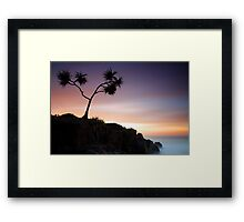 Alone I Stand Framed Print