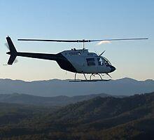 JetRanger in Flight, NSW by PrecisionHeli