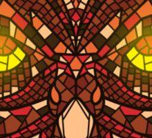 Owl Mosaic 2 Sticker