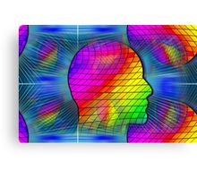 WOW! In the Head Space Canvas Print