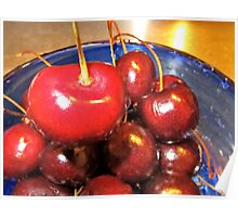 Red Cherries Poster