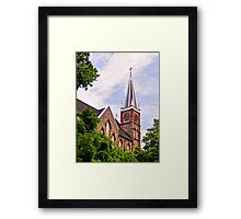 Old Church at Harpers Ferry, West Virginia Framed Print