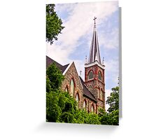 Old Church at Harpers Ferry, West Virginia Greeting Card