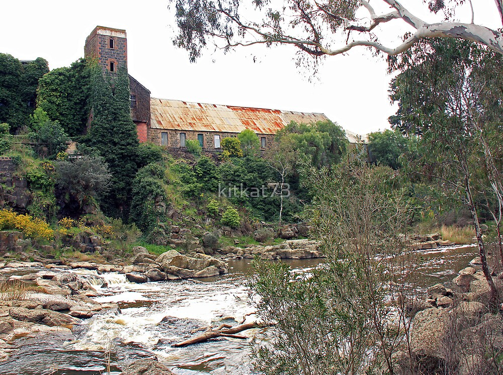 """Barwon Paper Mill"" by kitkat73"