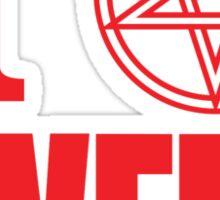 Hail Owens Pentagram Sticker