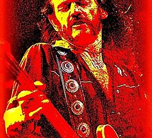 LEMMY IN RED. by Terry Collett