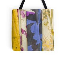 colored fabrics Tote Bag