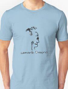 A portrait of Leonardo Dicaprio Unisex T-Shirt