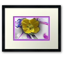 Very Special indeed! Framed Print