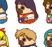 Pretty Soldier Sailor Puglie Sticker