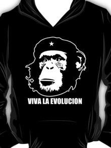 VIVA LA EVOLUCION - Evolution - Funny T-Shirt - Che Guervara Monkey S - XXXL T-Shirt